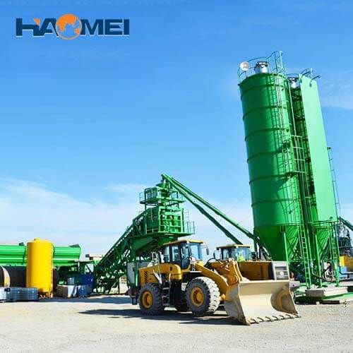 buy YHZS75 mobile concrete batching plant