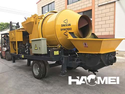 chinese concrete mixer pump factory price