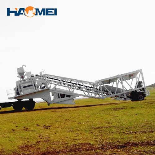 discount YHZS25 mobile concrete batching plant