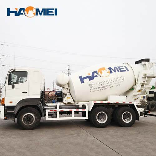 HM9-D concrete mixer truck for sale