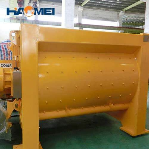 low cost sicoma concrete mixer