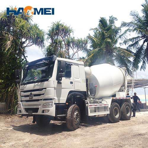 hm12d concrete mixer truck for sale