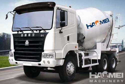 Solution for concrete mixer truck not turning