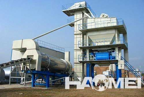 lb800 asphalt mixing plant for sale