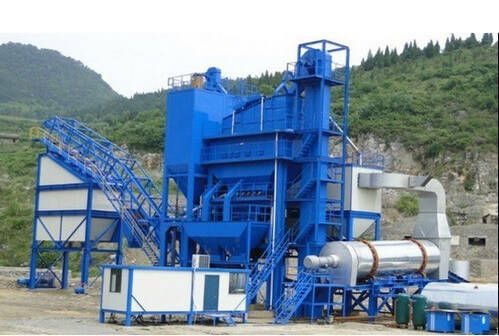 How to Set Up Asphalt Mixing Plant