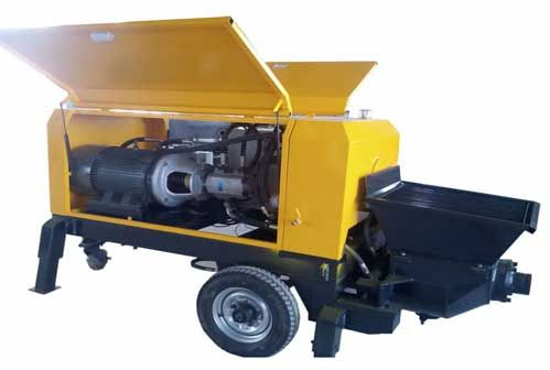 trailer concrete pump manufacturers