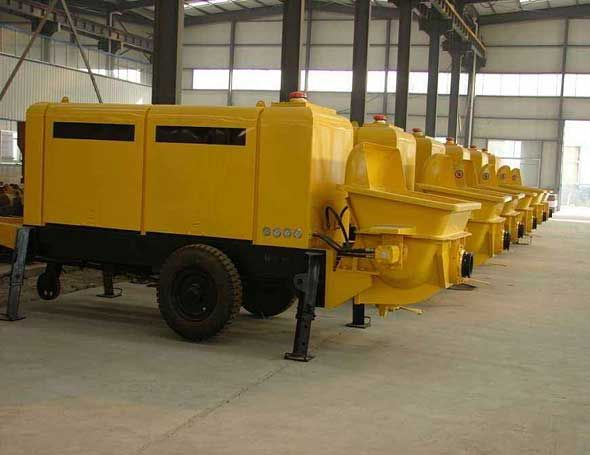 Trailer Concrete Pumps In Zambia