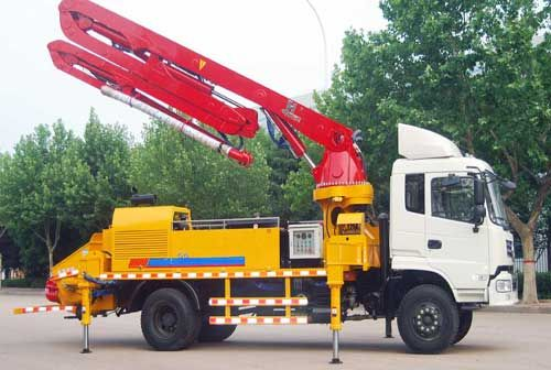 Maintenance Method of China Pump Truck