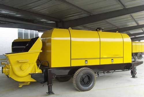 China Trailer Concrete Pump Characteristics