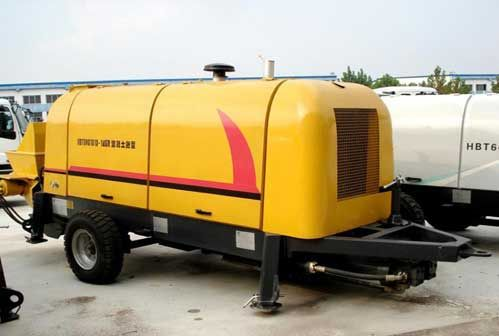 China concrete mixer pumps