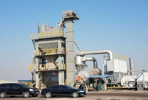 Hardware Failure of Asphalt Mixing Plant