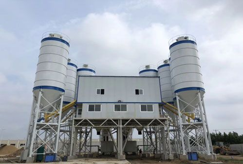 Maintenance Methods for Stationary Concrete Batching Plant