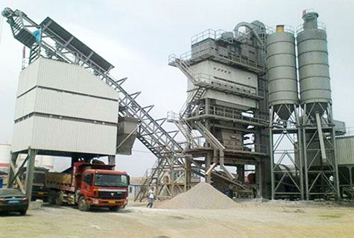 Construction Techniques of Asphalt Mixing Plant