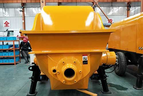 Application Range of Concrete Pump