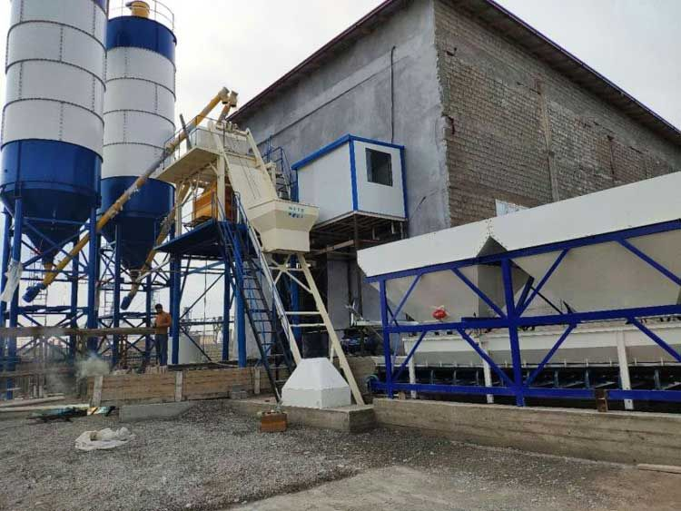 low cost concrete mixer