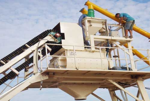 Avoid Residues in Moblie Concrete Batching Plant
