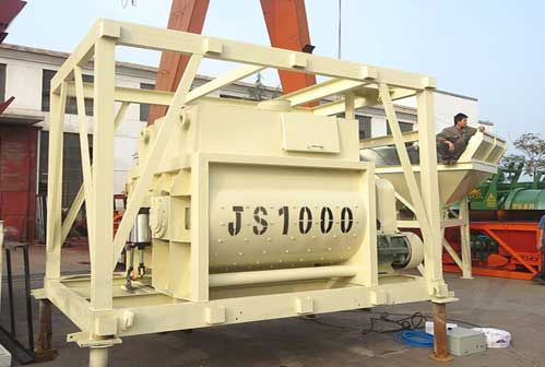 Haomei Provides High Quality Concrete Mixer