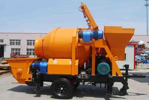 Buy Mobile Concrete Mixer With Pump Point