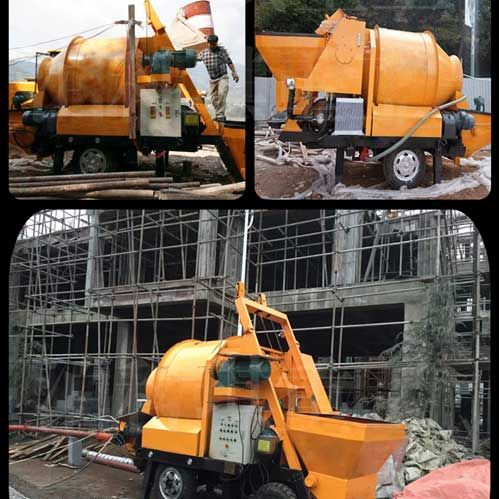 China concrete mixer pump