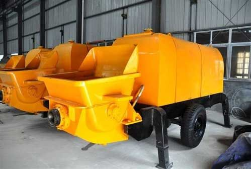 Concrete Mixer Pump Cleaning Method