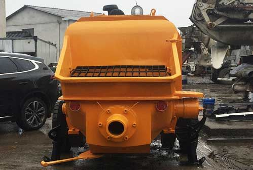 Concrete Pump Working Principle And Precautions