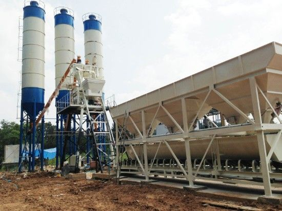 How Does Concrete Mixing Plant Measure Moisture
