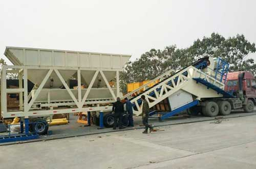 Mobile Concrete Batching Plant Saves Maintenance Costs